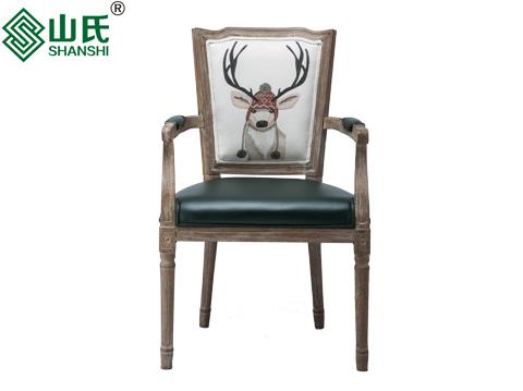 欧式个性餐椅|风格分类|山氏家具-商业休闲沙发定制